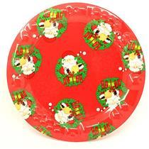 Bandeja de Natal Plástico Para Serviço de Mesa Santini 047-170648
