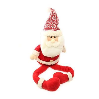 Papai Noel Decoração de Natal Santini Christmas 048-814642A Vermelho