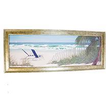 Quadro Decorativo Latcor 52341 12x36'' Moldura de Madeira