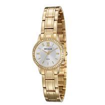 Relógio Feminino Seculus 28907LPSVDS1 Analógico Pulseira de Aço Dourado