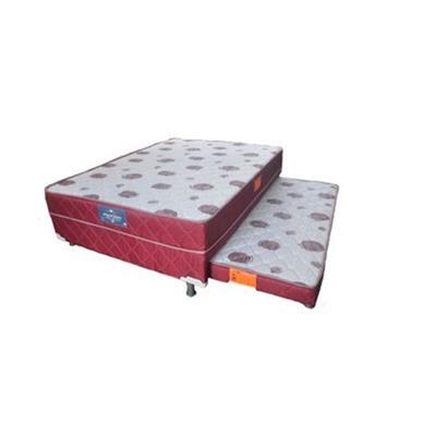 Cama Box de Solteiro Marjom Premium 88x188x44cm com Auxiliar