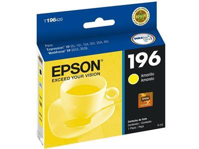 Cartucho para Impressora Epson T196220 Amarelo