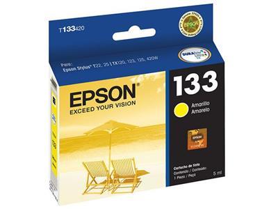 Cartucho para Impressora Epson T133420-BR Amarelo