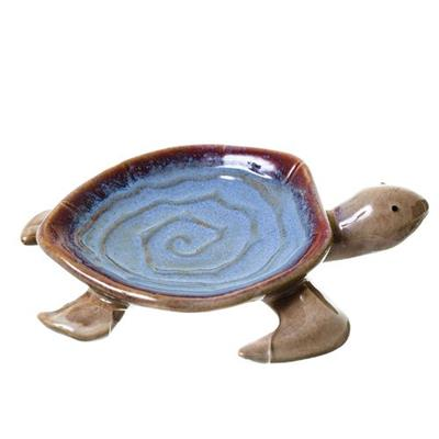 Adorno Tartaruga Latcor LRP7637 Porcelana