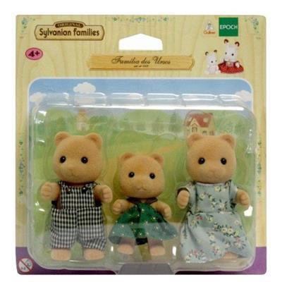 Brinquedo Conjunto Família dos Ursos Epoch 5125
