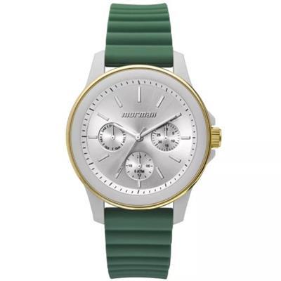 0ef70126811 Relógio Feminino Mormaii MO6P29AF8V Analógico Pulseira de Silicone Verde