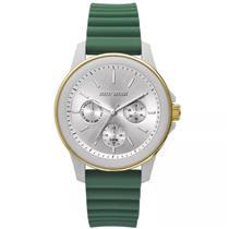 Relógio Feminino Mormaii MO6P29AF8V Analógico Pulseira de Silicone Verde