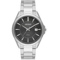 Relógio Masculino Orient MBSS1323 G1SX Analógico Pulseira de Aço Prata