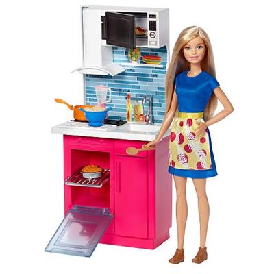 Brinquedo Barbie Cozinheira Mattel DVX51