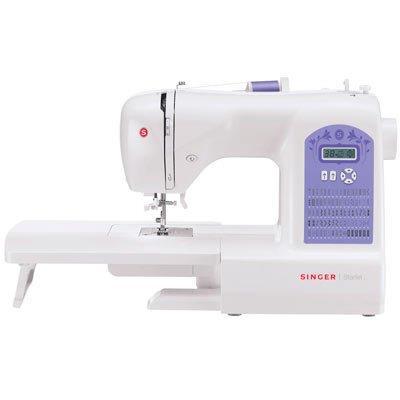 Máquina de Costura Singer Starlet 6680 74 Pontos de Costura 110V Branco