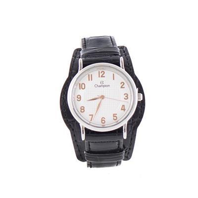 c30c8e64131 Relógio Feminino Champion CN20275Q Analógico Pulseira de Couro Preto ...