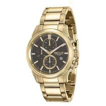 5add256e8e9 Relógio Masculino Seculus 13023GPSVDA1 Analógico Pulseira de Aço Dourado