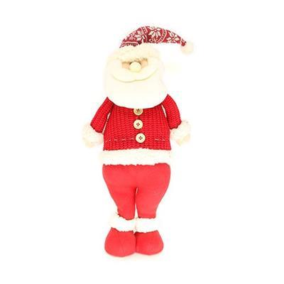 Papai Noel Decoração de Natal Santini Christmas 048-814644A Vermelho