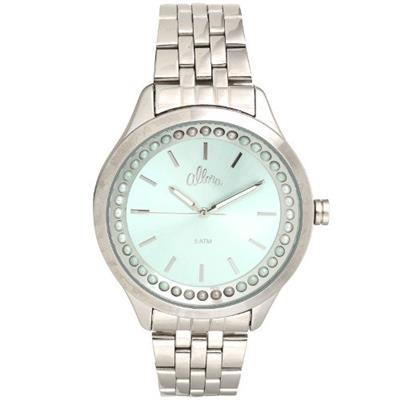 Relógio Feminino Allora AL2035FHX/3V Analógico Pulseira de Aço Prata