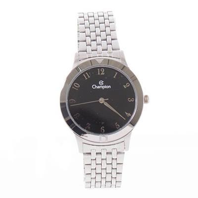 Relógio Feminino Champion CH22975T Analógico Pulseira de Aço Prata