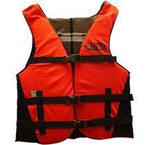 Colete Salva-Vidas Ativa Canoa Até 100kg Vermelho