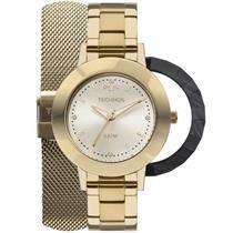 Relógio Feminino Technos 2035MLJT4X Analógico Pulseira de Aço Dourado 1e446c2051