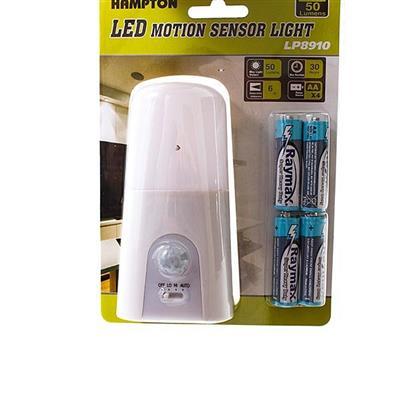 Lanterna Sensor de Movimento Funcionamento à Pilha Latcor LP8910 Plástico