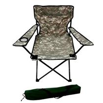 Cadeira Dobrável Araguaia Belfix 16900 Metal e Tecido Camuflado