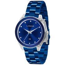2922176af62 Relógio Feminino Lince LRA4431P D1DX Analógico Pulseira de Aço Azul
