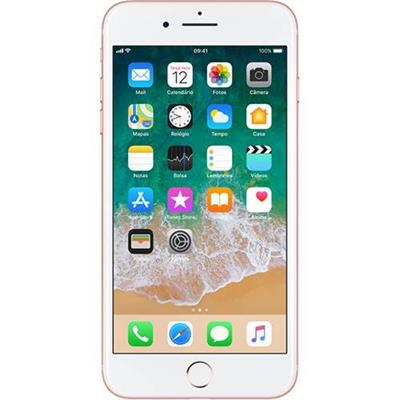Smartphone Livre Apple iPhone 7 Plus 32GB 4G, Tela 5.5, Cãmera 12MP + 5MP, iOS 11, Cor Rosé