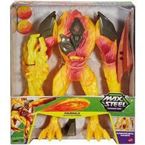 Boneco Max Steel Mission Metal Blaze Elementor Mattel FDT72 Plástico 32cm