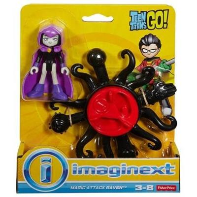 Brinquedo Conjunto Imaginext Básico Teen Titans Mattel DTP28 Cores e Modelos Variados