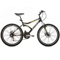 Bicicleta Houston Discovery 2.6 Aro 26 Preto Fosco