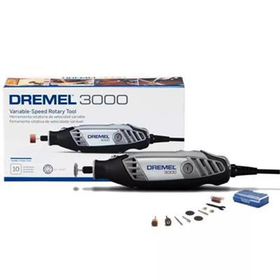 Microrretífica Dremel F0133000PB-000 120W Rotação 3.000 127V