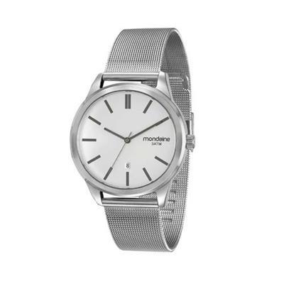 Relógio Feminino Mondaine 83365G0MVNS2 Analógico Pulseira de Aço Prata