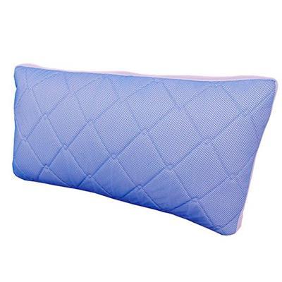 Travesseiro Pelmex Flocos Color 45x80x19cm Azul