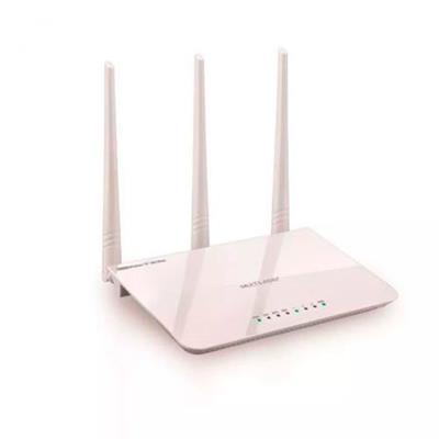 Roteador Multilaser RE163V 3 Antenas IPV6 300 Mbps Branco