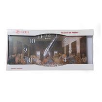 Relógio de Parede Santa Ceia Relobraz 937 26x52cm
