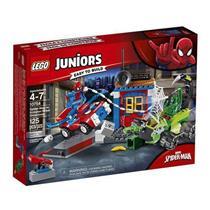 Brinquedo Lego Juniors Confronto de Rua Spider Man Versus Scorpion 10754 Plástico