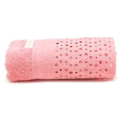 Conjunto para Lavabo 2 peças Buddemeyer 3149 100% algodão Rosa