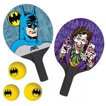 Jogo de Ping Pong 2 Peças Coringa e Batman Belfix 484400
