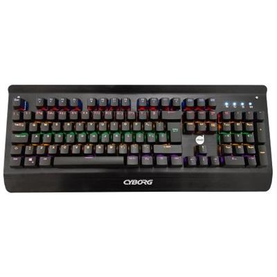 Teclado Dazz Mecânico Cyborg USB 622568 Preto