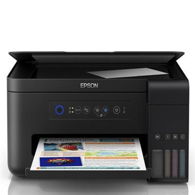 Impressora Multifuncional Ecotank Epson L4150 Preta