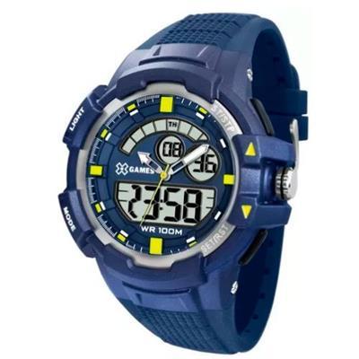 Relógio Masculino X-Games XMPPA232 BXDX Digital Pulseira de Silicone