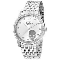 Relógio Feminino Champion CN29212D Analógico Pulseira de Aço Prata com Kit c9f24230c3