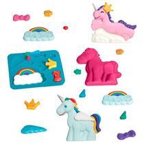 Brinquedo Super Massa Unicórnios Estrela 1001301400164