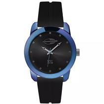 13da2810c5a Relógio Feminino Mormaii MO2035HF8K Analógico Pulseira de Silicone Preto