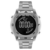 4e6e0217f01 Relógio Masculino Mormaii MO11273C 1P Digital Pulseira de Aço Prata