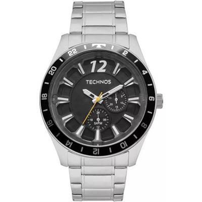Relógio Masculino Technos 6P22AE/1P Analógico Pulseira de Aço Prata
