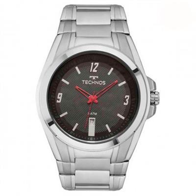 Relógio Masculino Technos 2115KSX/1P Analógico Pulseira de Aço