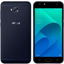 Smartphone Asus Zenfone 4 64GB ZE554 Tela 5.5 Câmera 12MP+8MP Frontal 8MP Android 7 Preto