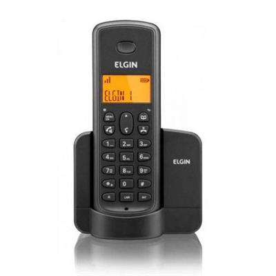 Telefone Elgin Sem Fio Com Identificador TSF8002 Preto