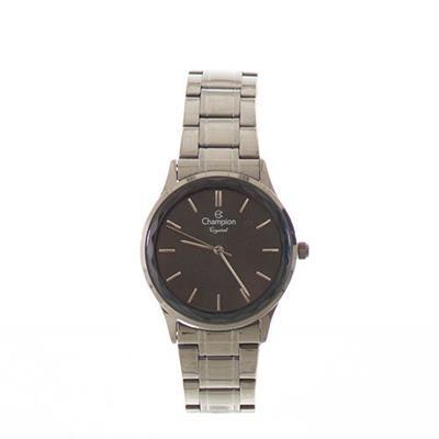 b73c6062a82 Relógio Feminino Champion CN25574W Analógico Pulseira de Aço Prata