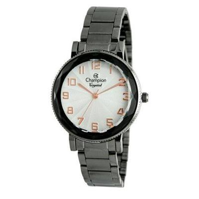 Relógio Feminino Champion CN25596W Analógico Pulseira de Aço Preto