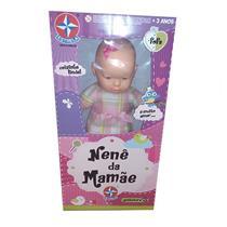 Boneca Nenê da Mamãe Estrela 1003601000260 Plástico 60cm